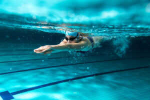 Does swimming change your body shape