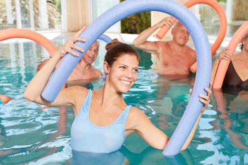 Is water aerobics considered cardio
