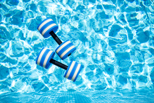 pool resistance training in San Diego