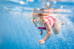 What do I need for baby swimming lessons