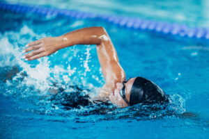 Should you swim before or after gym